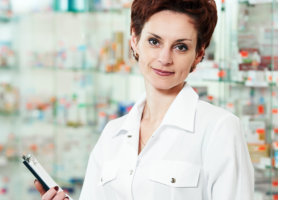 a pharmacist woman