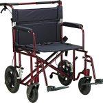 22″ Bariatric Aluminum Transport Chair