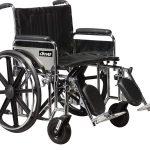 Bariatric Sentra Extra-Heavy-Duty Wheelchair