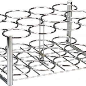 Chrome Oxygen Cylinder Rack