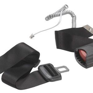 Alarm Seat Belt, with EZ or Kwik Release Buckle