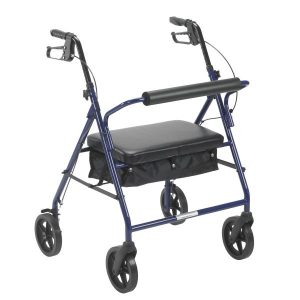 Bariatric Rollator with 8″ Wheels