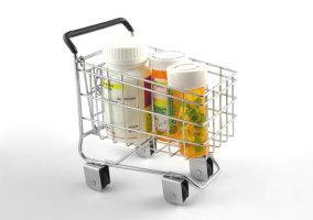 tray of medicines