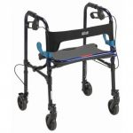 Clever-Lite Walker with Seat and Loop Locks 2