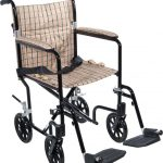 Deluxe Fly-Weight Aluminum Transport Chair 2