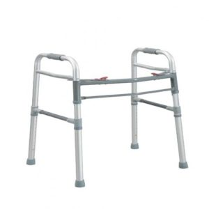 Deluxe Folding Walker, One Button