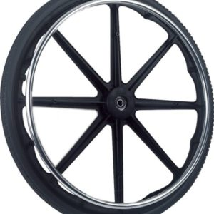 Flat-Free Wheel with Handrim