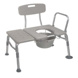 K.D. Combination Plastic Transfer Bench or Commode
