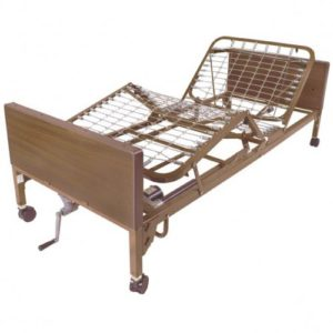 Semi-Electric Bed (Single Crank)