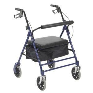 Bariatric Rollator with 7.5″ Wheels